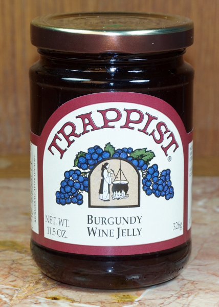 burgundywinejelly